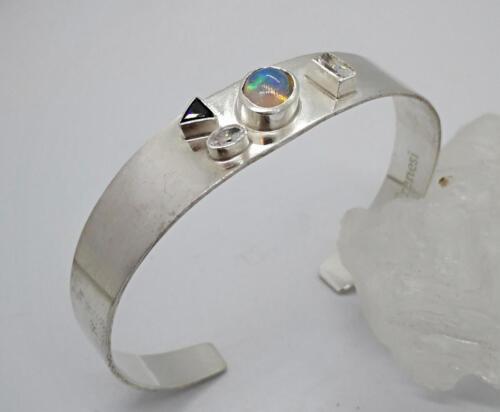 """Purpose"" ädelopal, Cubik Zirkonia, silver. 1250:- SEK"