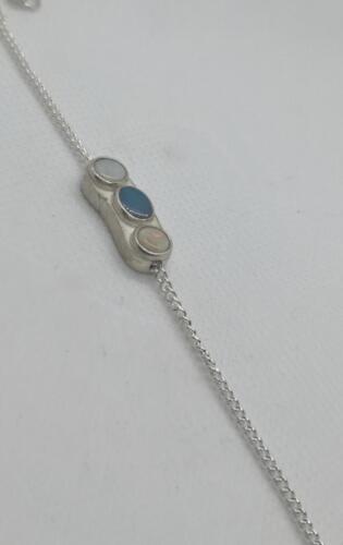 """3 syster"", ädelopal, silver. 1350:-SEK"
